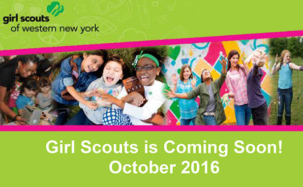 Girls Scouts Buffalo Pal