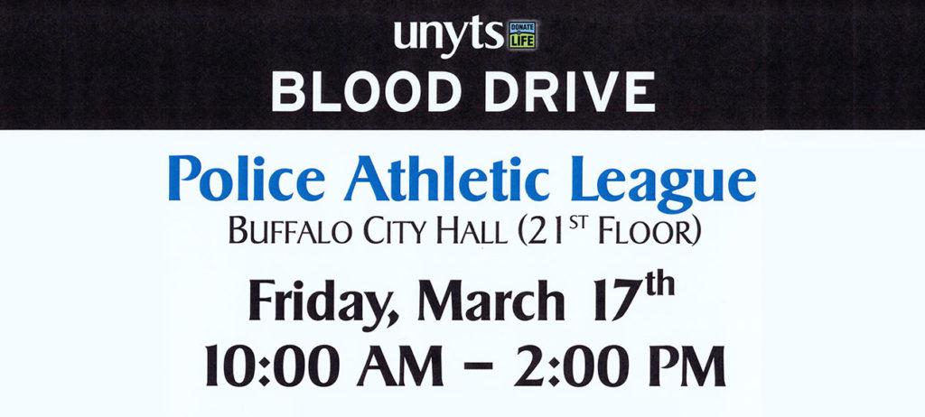 Buffalo PAL Blood Drive March 2017