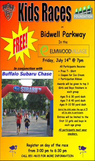 Kids Races in the Elmwood Village