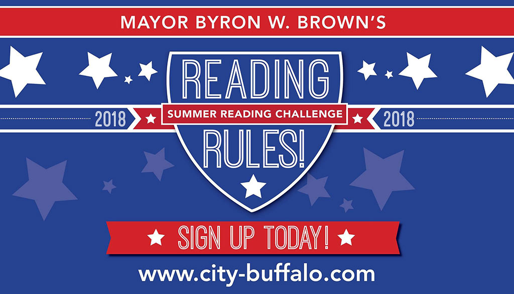 Mayor brown;s Reading Rules Challenge for 2018