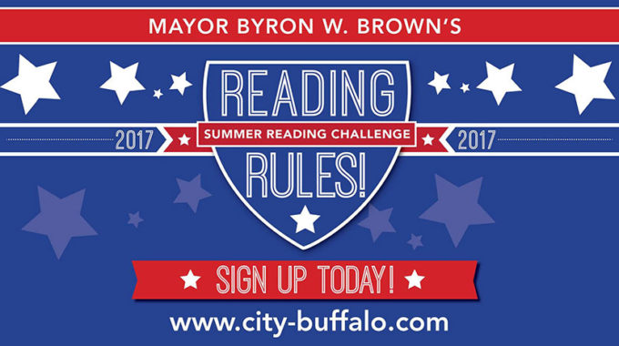 "Mayor Brown's Annual ""Reading Rules! Kids Summer Reading Challenge"""