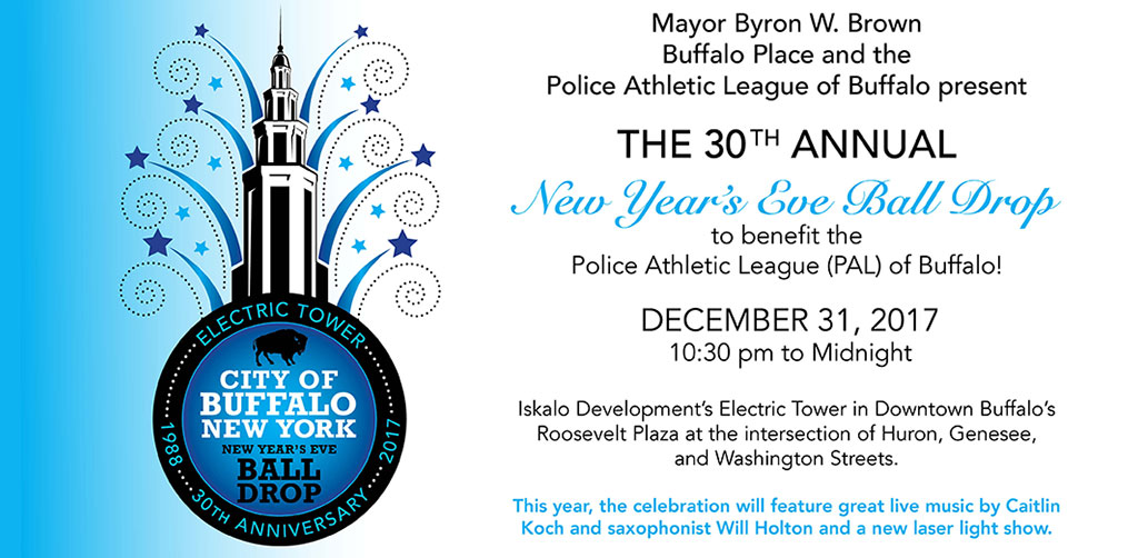 30th annual New Year's Eve Buffalo Ball Drop