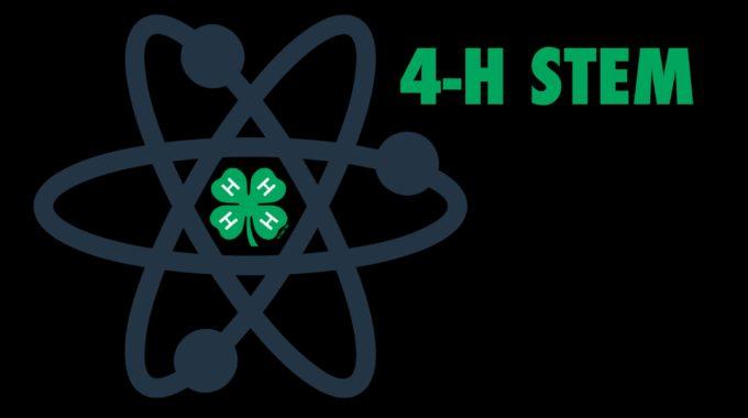 4 H STEM Logo