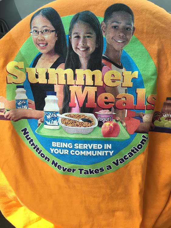 Free Summer Meals Event