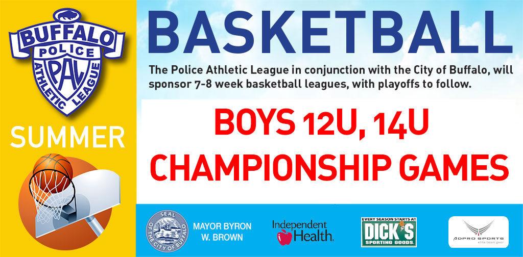 PAL Summer basketball boys 12U & 14U championships