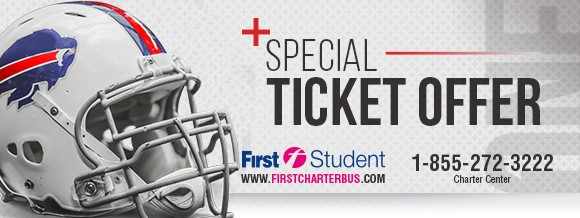 Buffalo Bills and PAL ticket offer