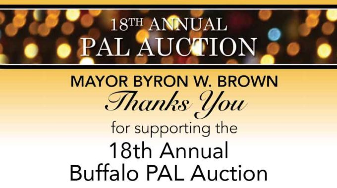 Mayor Byron Brown Thanks You For Supporting The Buffalo PAL Auction