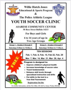 Youth Soccer Clinic @ Asarese-Matters Community Center