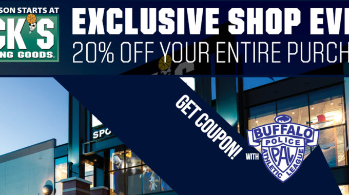 Save 20% At DICK'S SPORTING GOODS W/ PAL Coupon!
