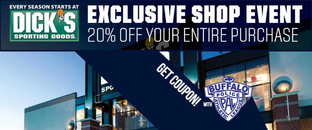 Save 20% at Dick's Sporting Goods!